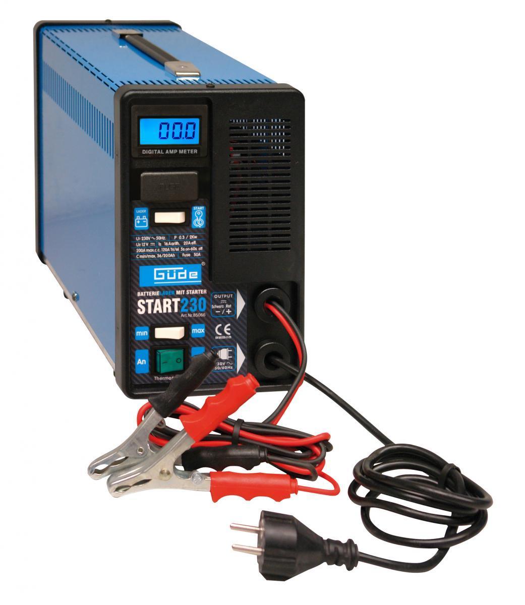 Bild 1 von Güde Batterielader Start 230
