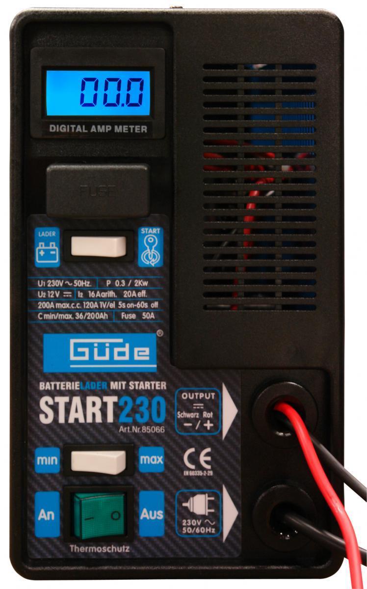 Bild 2 von Güde Batterielader Start 230
