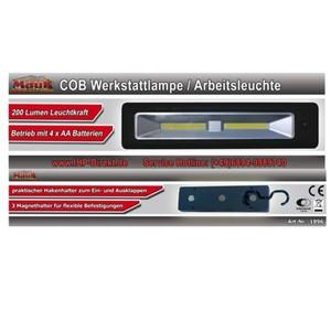 MAUK COB Werkstattlampe- Leuchte mit 200 Lumen