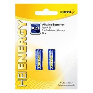 Heitech Alkaline Batterien 2-er ack Type A23