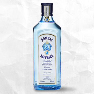Bombay Sapphire London Dry Gin 40 % Vol., jede 0,7-l-Flasche