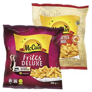 Mc Cain 1-2-3 Frites 750 g oder Deluxe 600 g gefroren, jeder Beutel und weitere Sorten