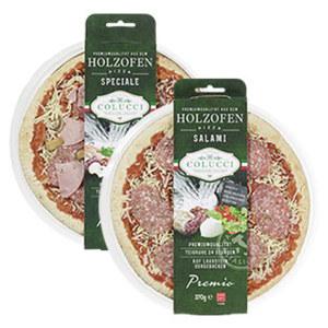 Colucci Holzofen Pizza aus dem Kühlregal, versch. Sorten,  jede 370/400-g-Packung