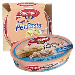 Saupiquet Thunfisch für Pasta oder Brotaufstrich jede 115/160-g-Dose