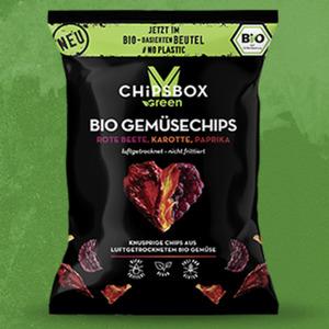 My Chipsbox Green  Bio Kartoffelchips versch. Sorten oder Bio Gemüsechips jeder 90/35-g-Beutel