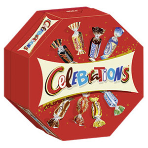 Celebrations jede 186-g-Packung