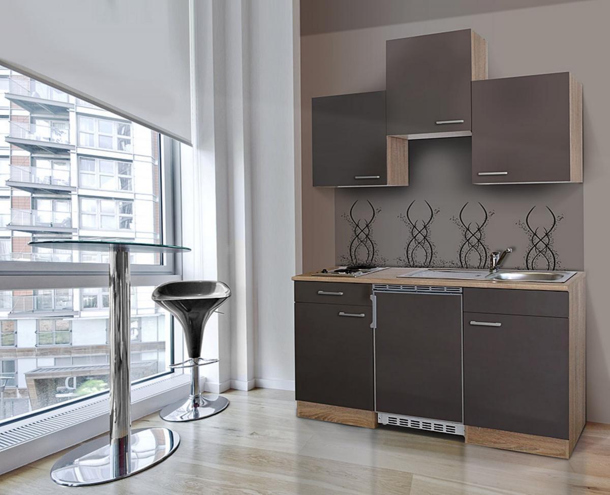 Bild 1 von respekta Economy Küchenblock 150 cm, grau ESK
