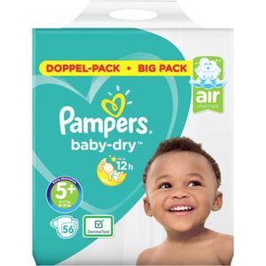 Pampers Baby Dry Windeln Doppel-Pack Gr. 5+, 12-17 kg