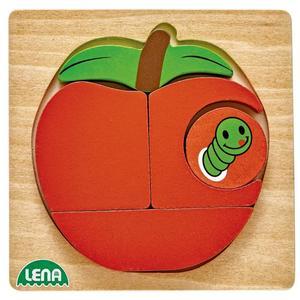 IDEENWELT Holzpuzzle Apfel