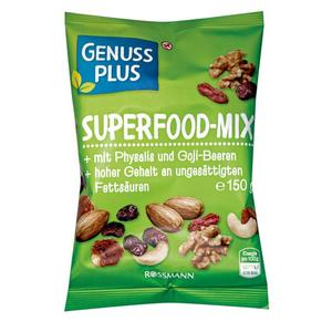 GENUSS PLUS Superfood-Mix 1.66 EUR/100 g