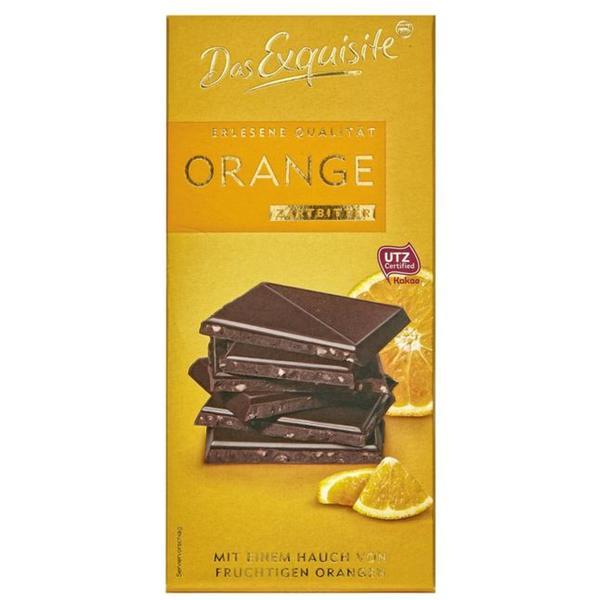 Das Exquisite Zartbitterschokolade Orange