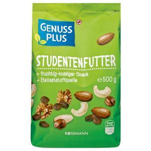 GENUSS PLUS Studentenfutter 8.98 EUR/1 kg