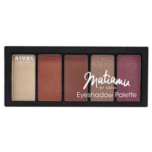 RIVAL DE LOOP Matiamu by Sofia Eyeshadow Palette 02 copper