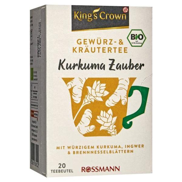 King´s Crown Gewürz- & Kräutertee Kurkuma Zauber 5.69 EUR/100 g