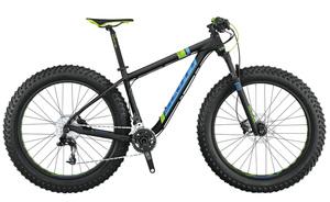 Scott Scale Big Ed Fatbike | 44 cm | schwarz/blau