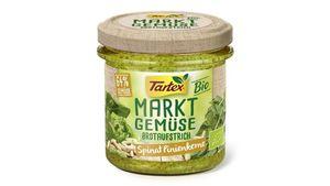 Tartex Marktgemüse Spinat Pinienkerne