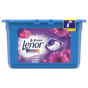 Lenor Color Waschmittel 3in1 Pods, 12WL, 316,8g