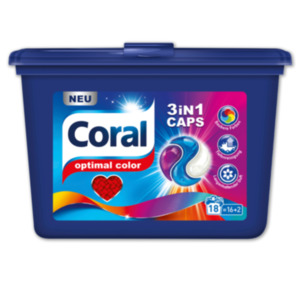CORAL 3in1 Caps optimal Color