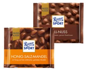 Ritter Sport Nuss Klasse Schokolade