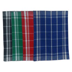 2er Pack Geschirrtücher - farblich sortiert - kariert - Baumwolle