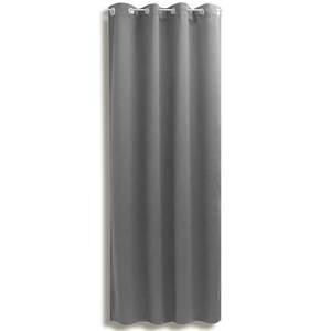 Verdunklungsvorhang LANOS - silber - 140x175 cm