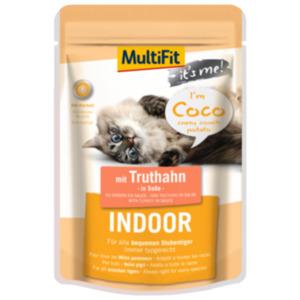 MultiFit It's Me Coco Indoor mit Truthahn 24x85g