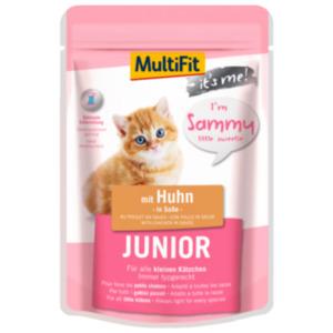 MultiFit It's Me Sammy Junior mit Huhn 24x85g