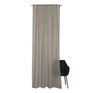 Vorhang Soho - Webstoff - Grau, Schöner Wohnen Kollektion