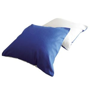 Kissenset Risa - Blau / Weiß, Ticaa