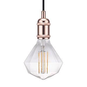 EEK A++, LED-Pendelleuchte Avra II - Stahl - 1-flammig - Kupfer, Nordlux