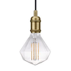 EEK A++, LED-Pendelleuchte Avra II - Stahl - 1-flammig - Messing, Nordlux