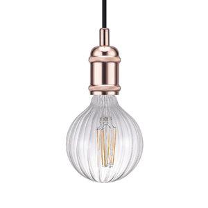 EEK A++, LED-Pendelleuchte Avra I - Stahl - 1-flammig - Kupfer, Nordlux