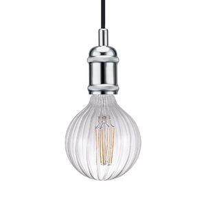 EEK A++, LED-Pendelleuchte Avra I - Stahl - 1-flammig - Chrom, Nordlux