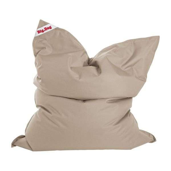 Sitzsack Big Bag Brava Flachgewebe Warmes Beige Sitting Point