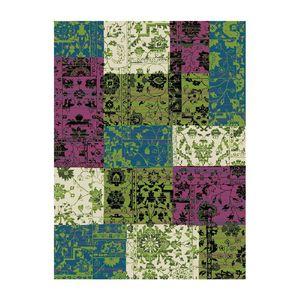 Teppich Heila - Grün/Pink/Blau - 190 x 280 cm, Hanse Home Collection