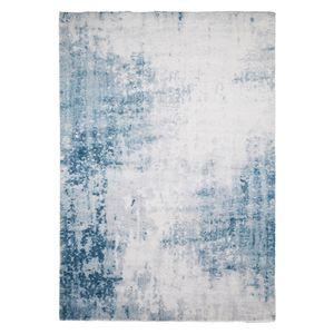 Hochflorteppich Beau Cosy - Mischgewebe - Blau / Grau - 160 x 230 cm, Top Square