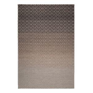 Teppich Flow V - Webstoff - Beige / Grau - 160 x 230 cm, Top Square