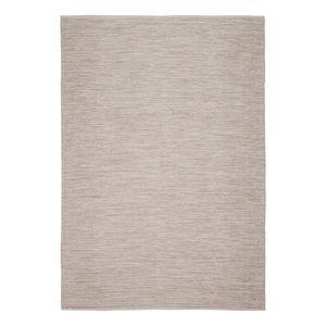 Teppich Lema - Baumwollstoff - Beige, Top Square