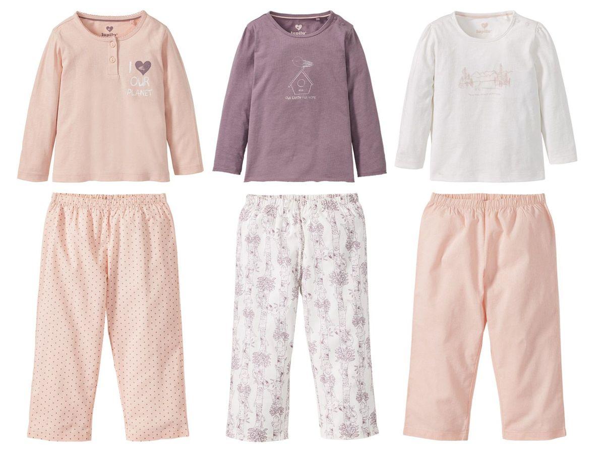 Bild 1 von LUPILU® PURE COLLECTION Kleinkinder Mädchen Pyjama