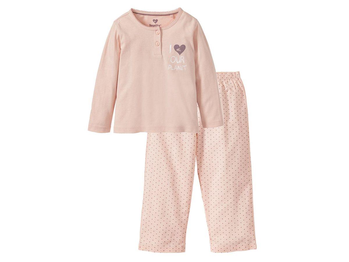 Bild 2 von LUPILU® PURE COLLECTION Kleinkinder Mädchen Pyjama