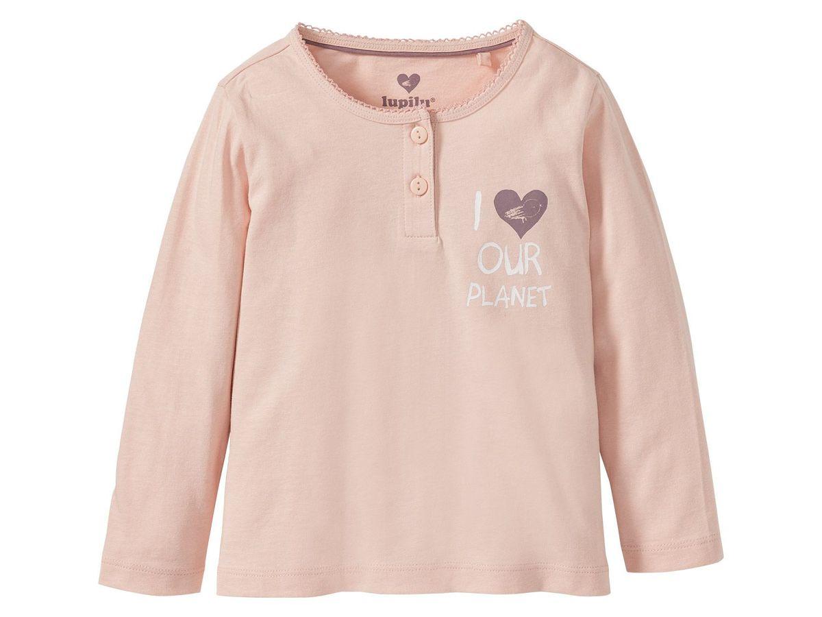 Bild 3 von LUPILU® PURE COLLECTION Kleinkinder Mädchen Pyjama