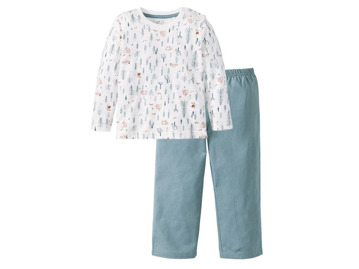Bild 2 von LUPILU® PURE COLLECTION Kleinkinder Jungen Pyjama