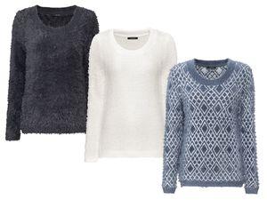 ESMARA® Damen Plüsch-Pullover