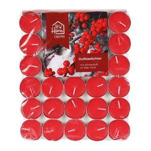 Duft-Teelichter 30er-Pack Rot