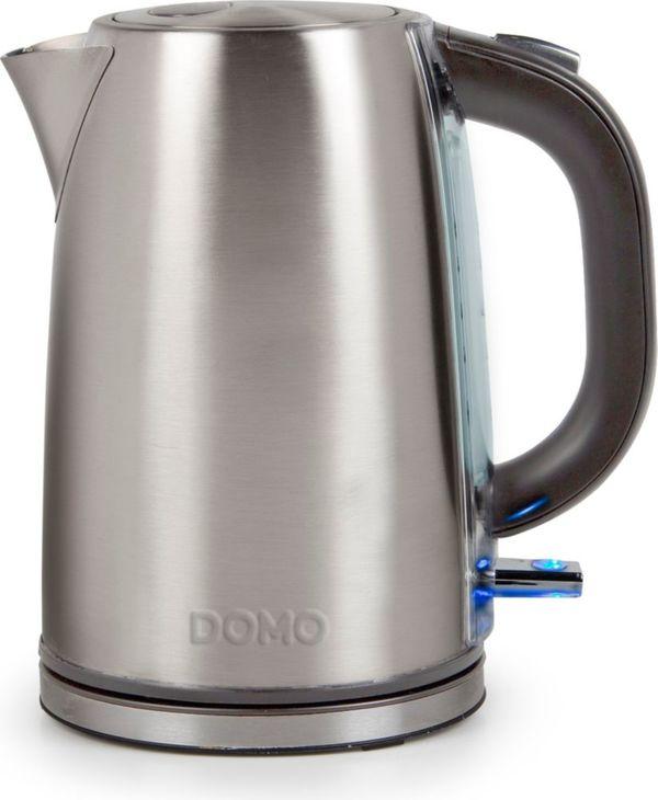 DOMO DO448WK Wasserkocher Edelstahl 1,7 Liter