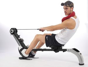 Body Sculpture Rudergerät Gym'n Rower mit DVD