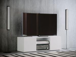 "VCM TV - Lowboard ""Jusa"" Maxi, Weiß"