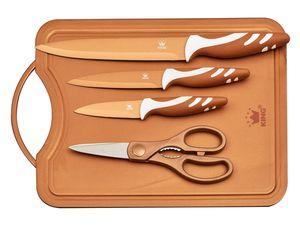 KING Messerset mit Schneidebrett 5-teilig