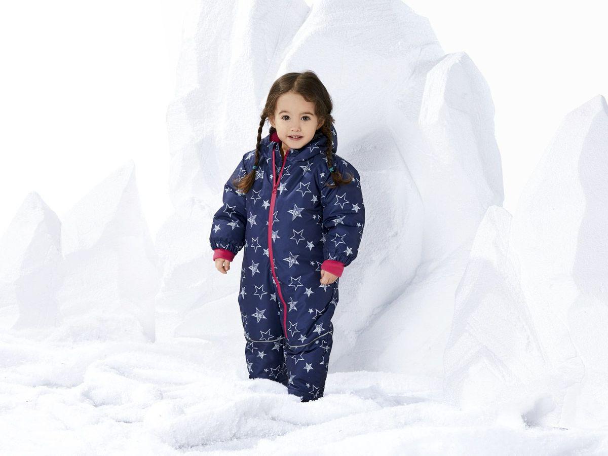 Bild 5 von LUPILU® Baby Mädchen Schneeoverall