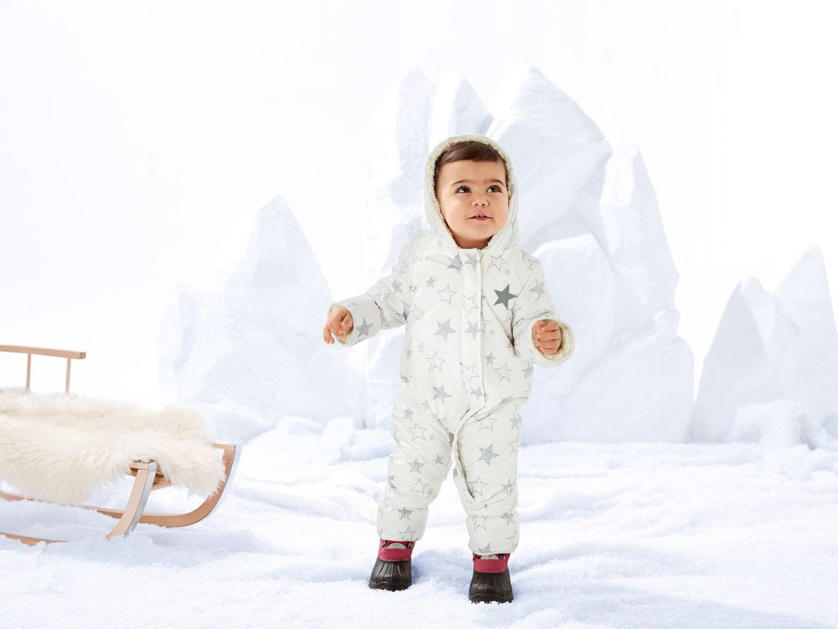 Bild 5 von LUPILU® Baby Mädchen Winteroverall